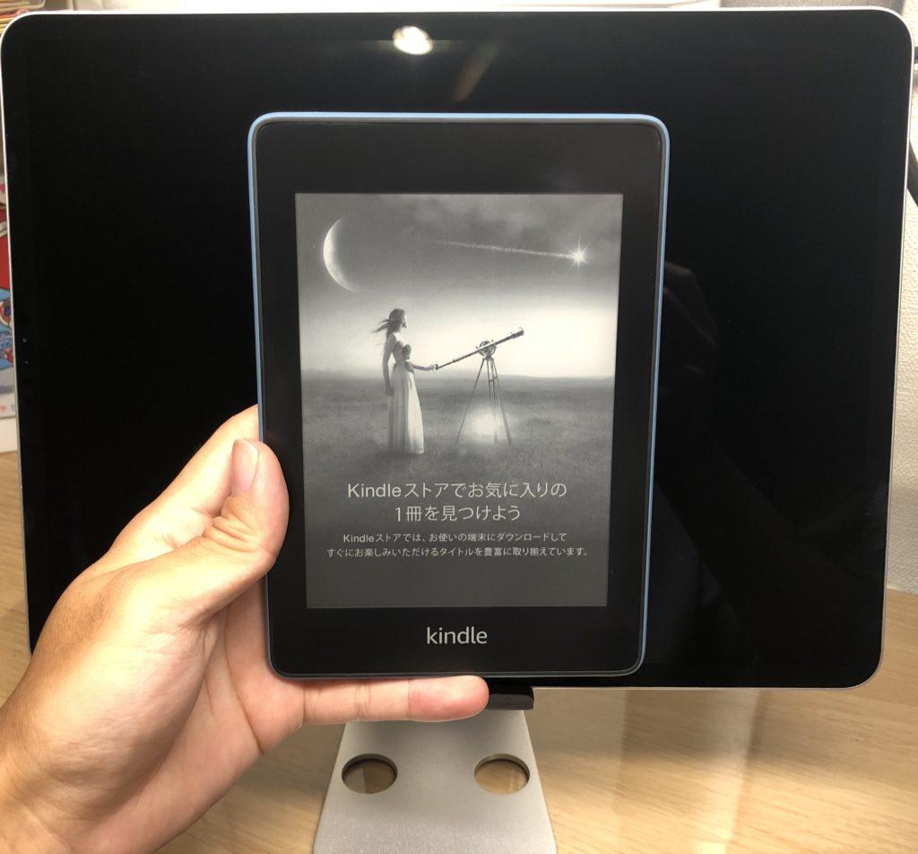 KindleとiPad Pro12.9インチの比較