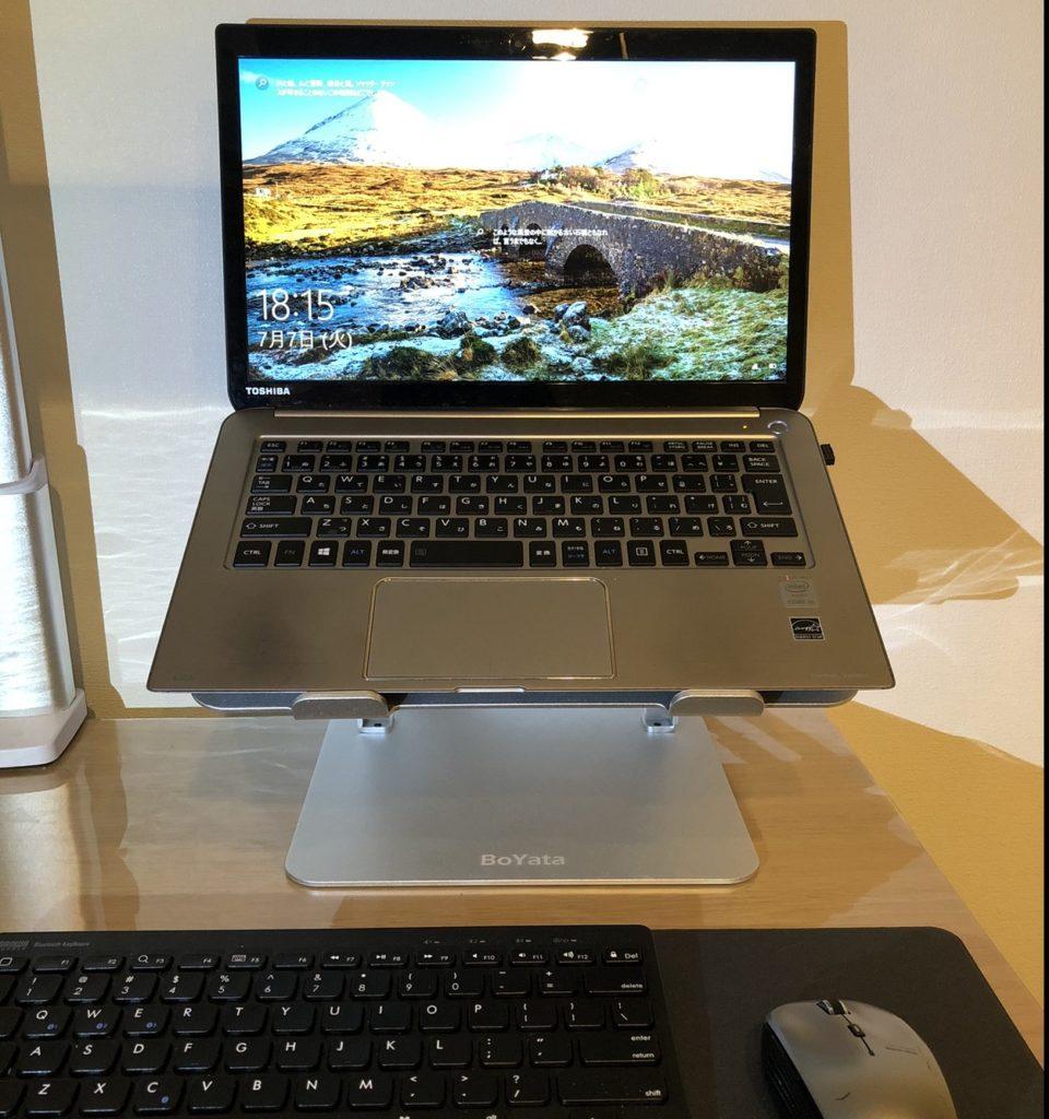 パソコンをボヤタに,ワイヤレスキーボード