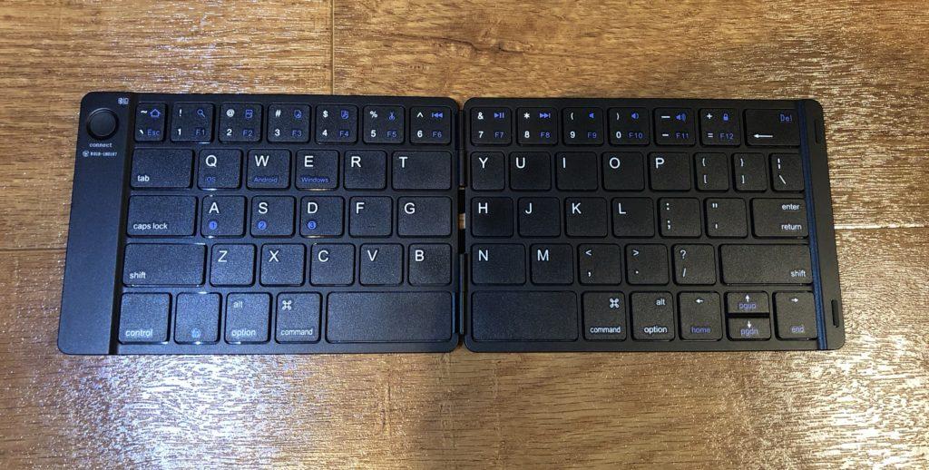 Ewinの折りたたみキーボードを使って、快適な環境を作ろう