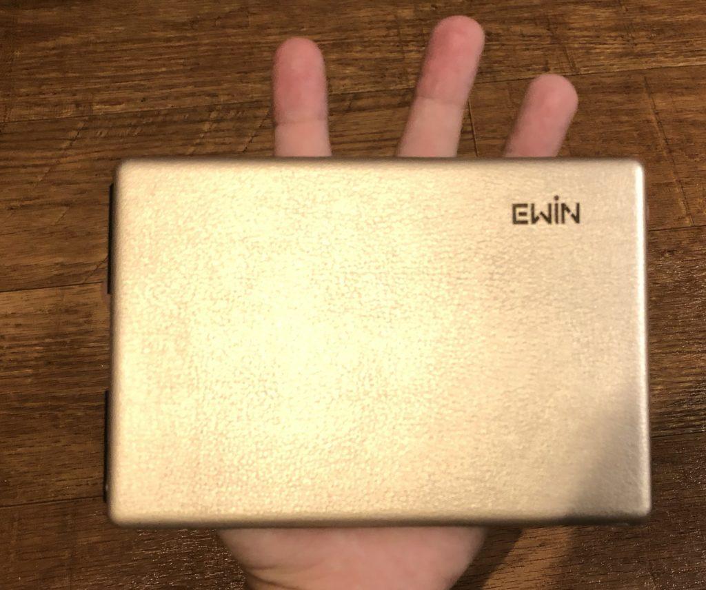Ewinキーボードの外観